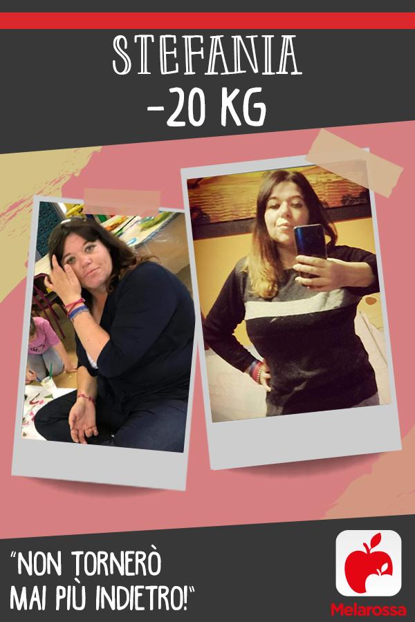 testimonial Melarossa Stefania 20 kg
