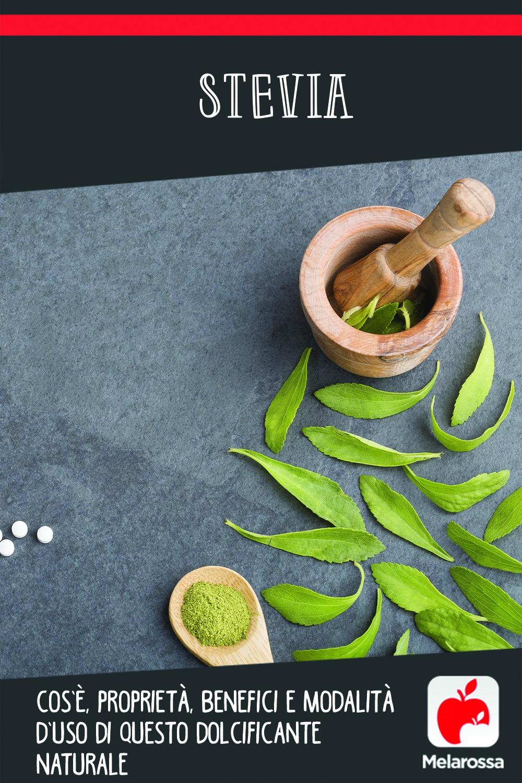 stevia: cos'è, benefici, valori nutrizionali, usi, ricette