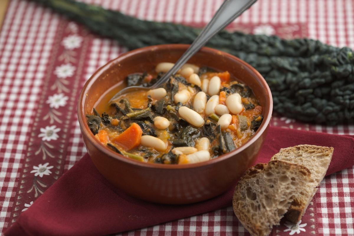 zuppa cavolo nero: idee ricette zuppe e minestre