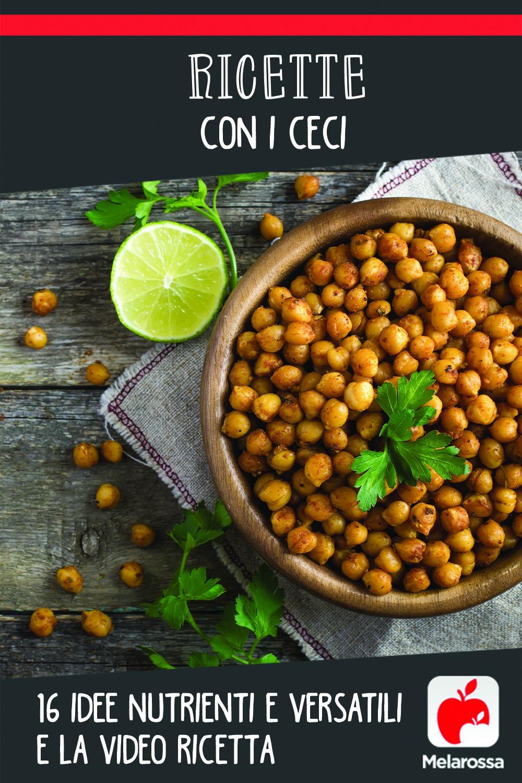 ricette con i ceci: idee nutrienti e video ricette