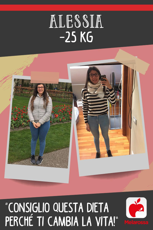 Testimonial Melarossa Alessia 25 kg