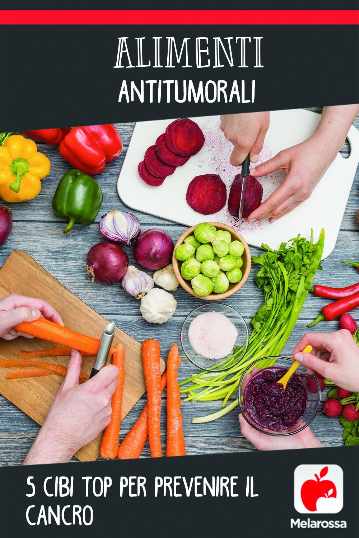 alimenti antitumorali: 5 cibi