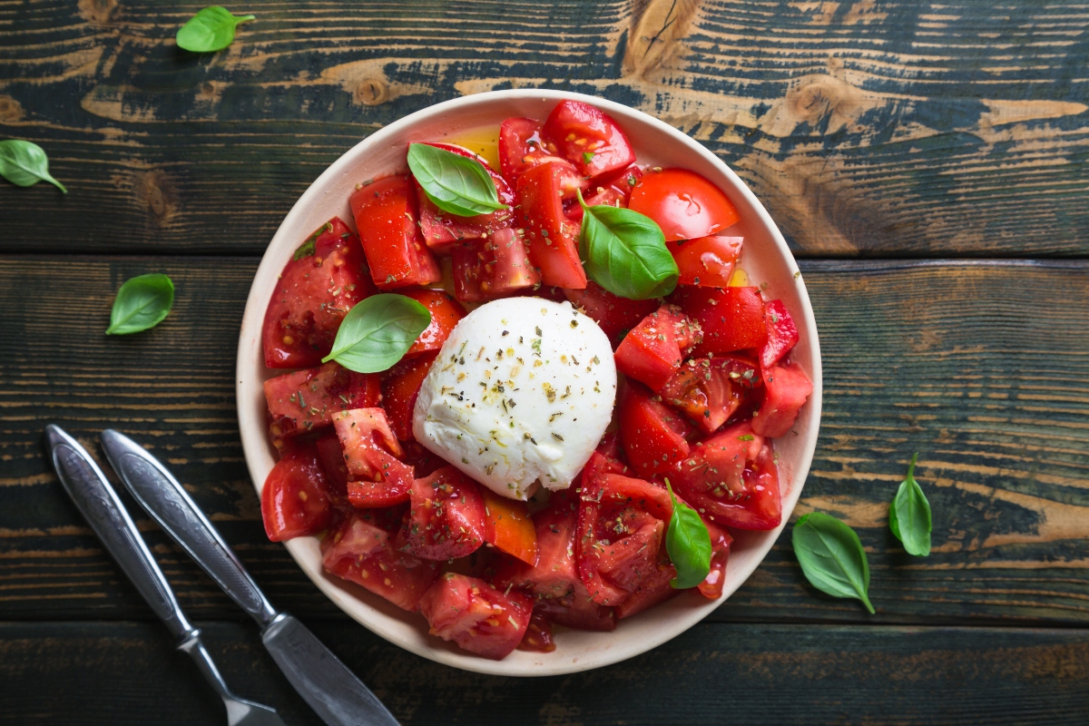 alimenti antitumorali: pomodori