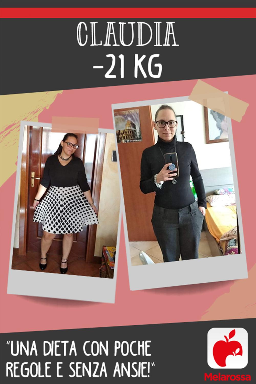 testimonial Melarossa Claudia 21 kg