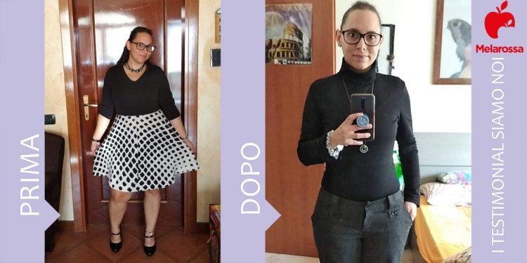 dieta Melarossa Claudia 21 kg
