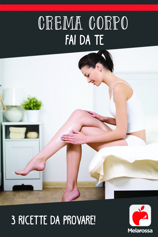 crema corpo fai da te : ricette per idratare