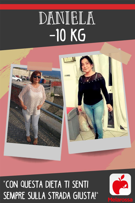 testimonial Melarossa Daniela 10 kg