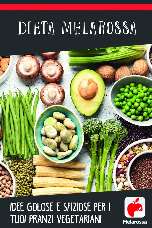 Dieta Melarossa idee vegetariane