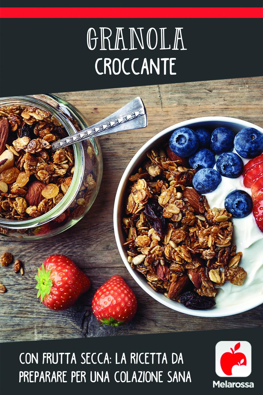 granola: la ricetta sana da preprare in casa