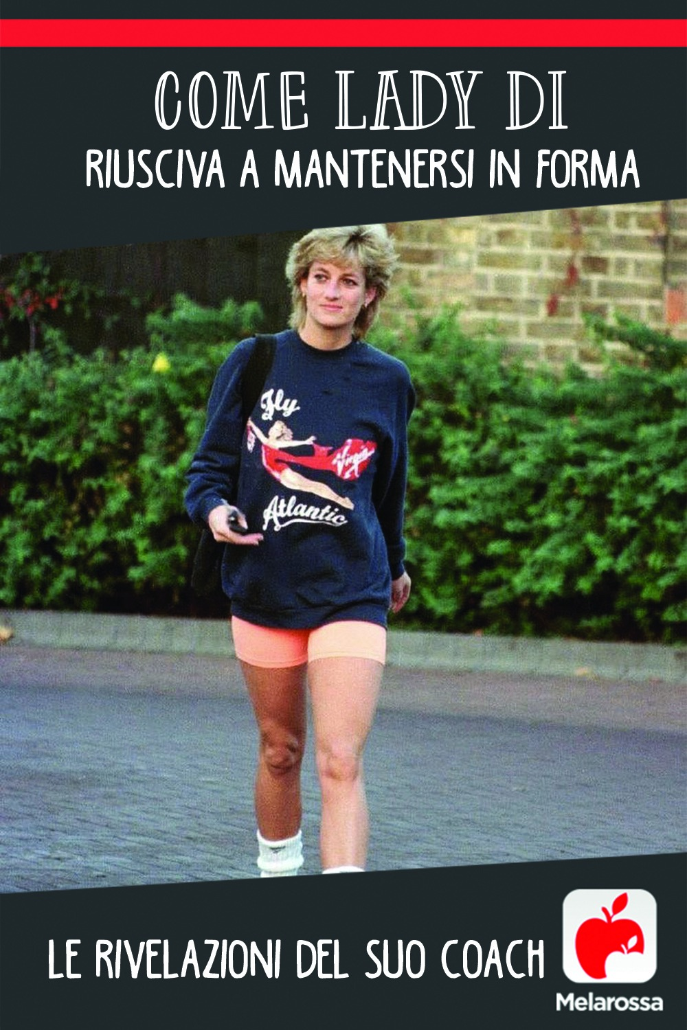 Lady Diana forma fisica