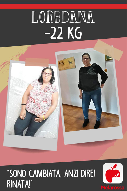 testimonial Melarossa Loredana 22 kg