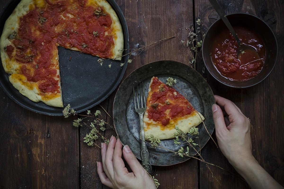 Pizza a casa: pizza marinara