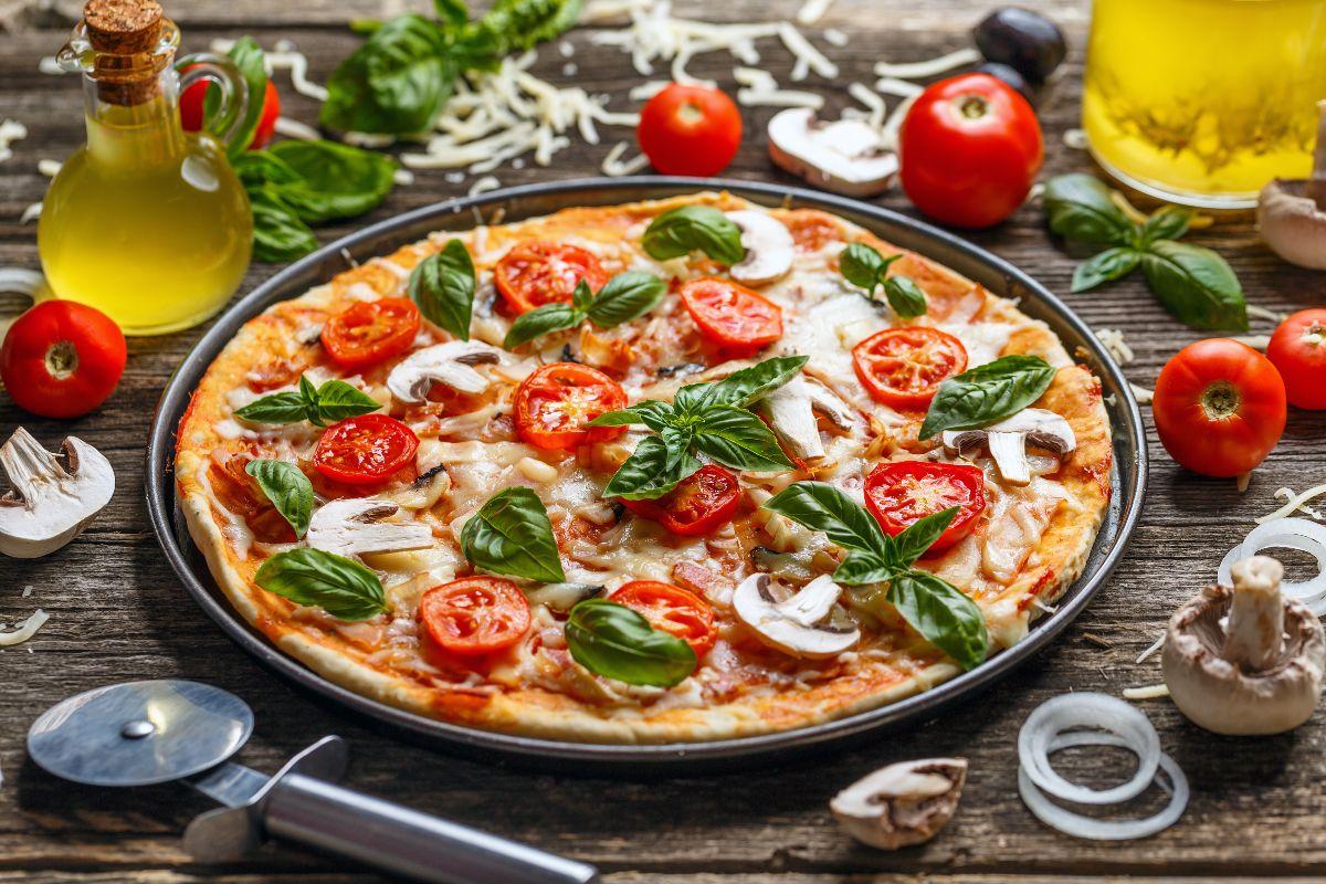 Pizza a casa: pizza in padella