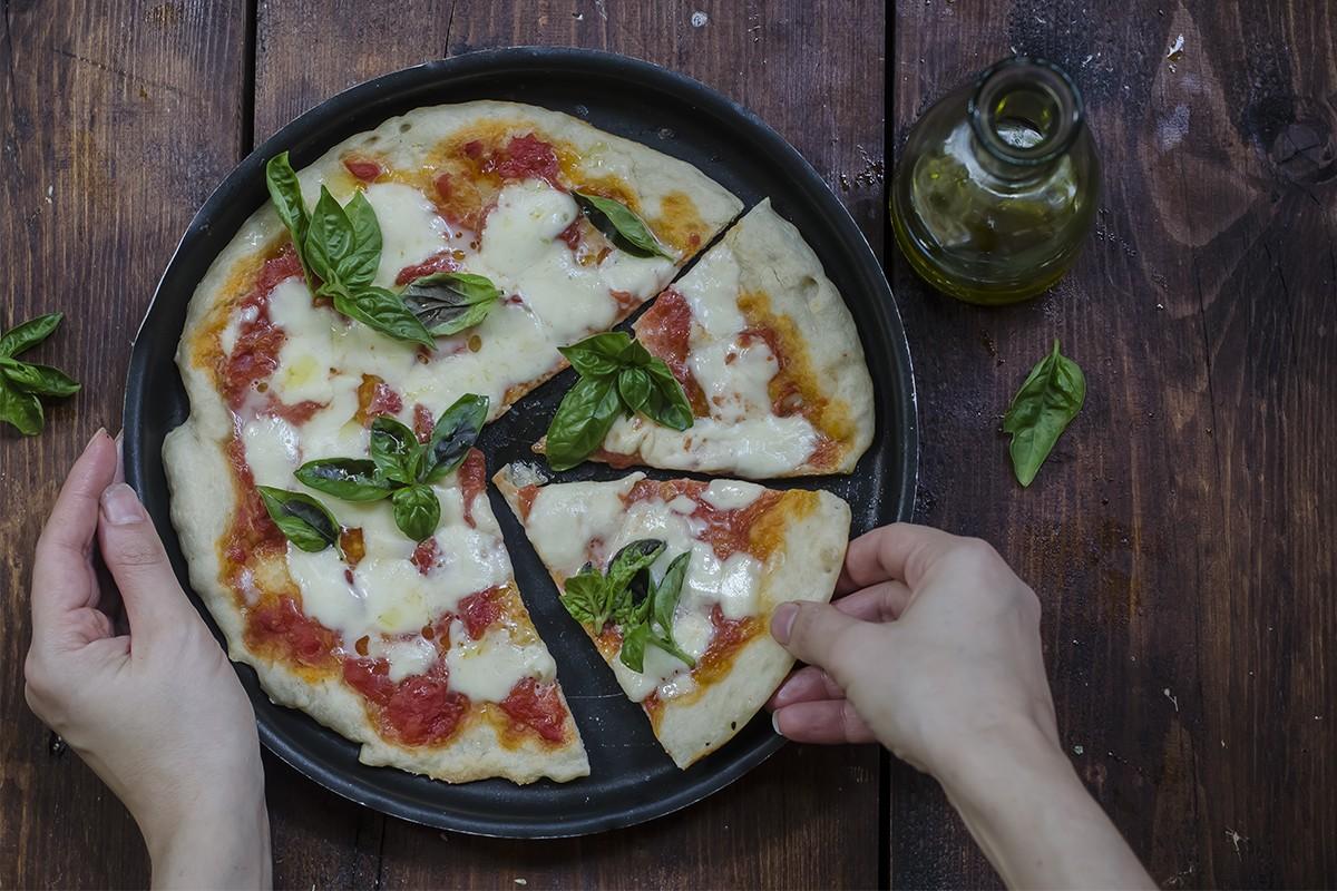 Pizza a casa: pizza margherita