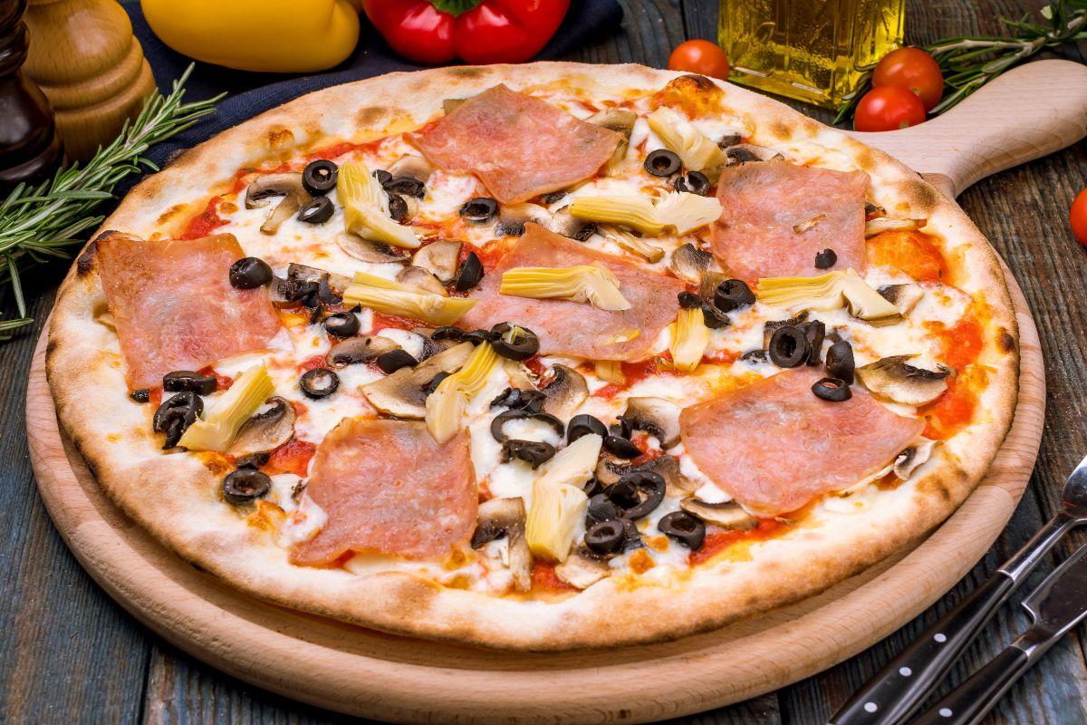Pizza capricciosa: ingredienti