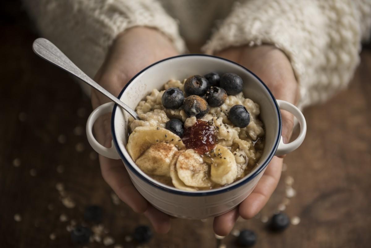 Porridge con avena