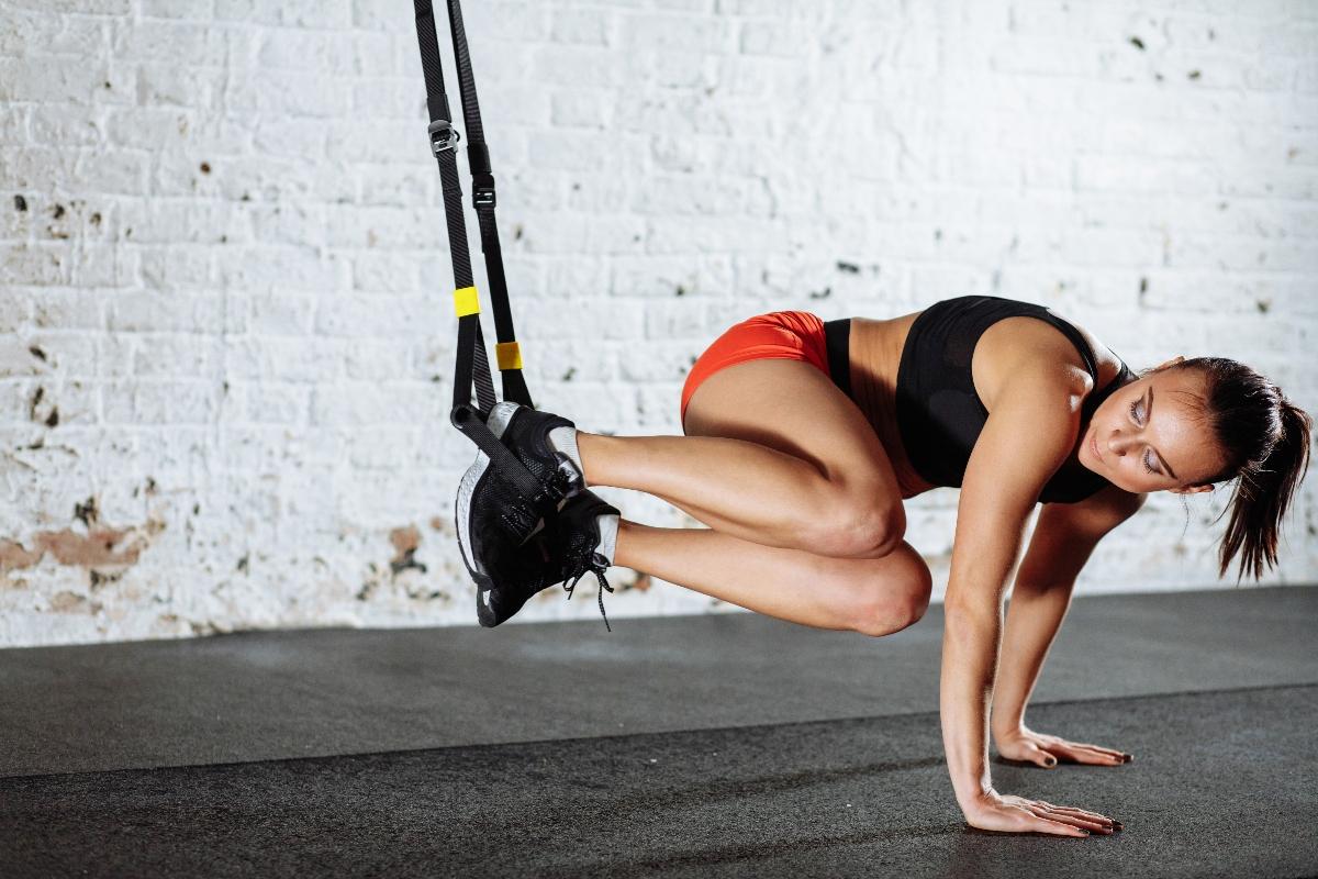 programma di allenamento con TRX