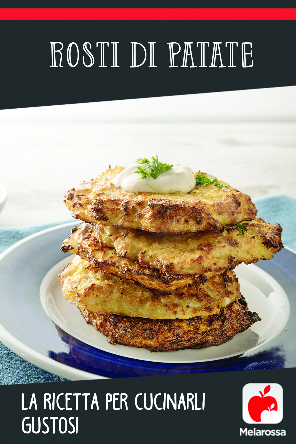 Rosti di patate: Pinterest