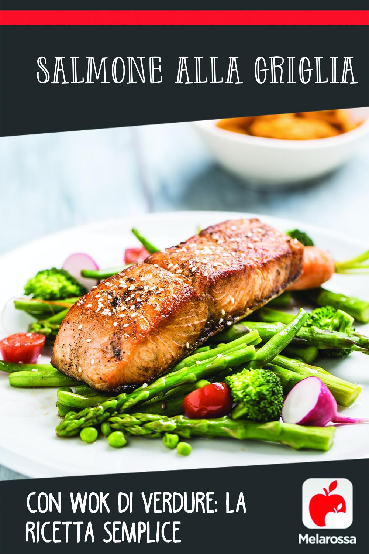 Salmone alla griglia: pinterest