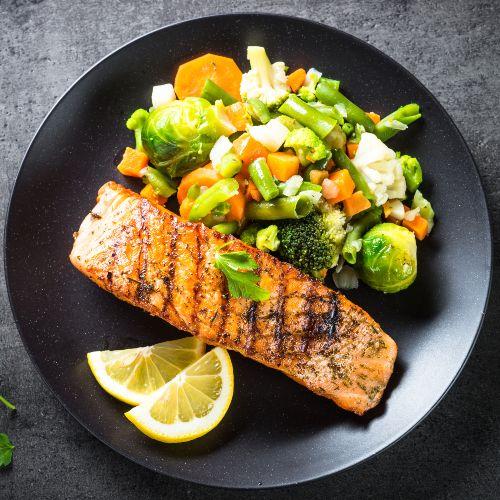 Salmone alla griglia: ricetta