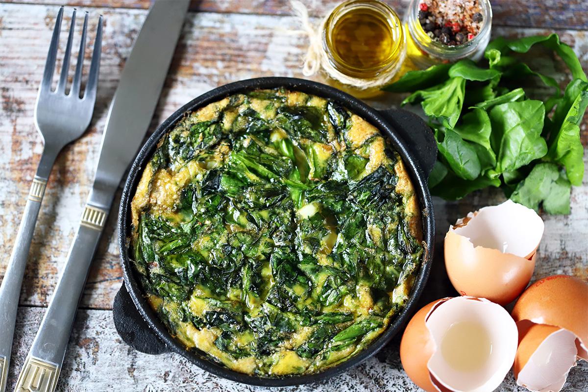 ricette con  gli spinaci