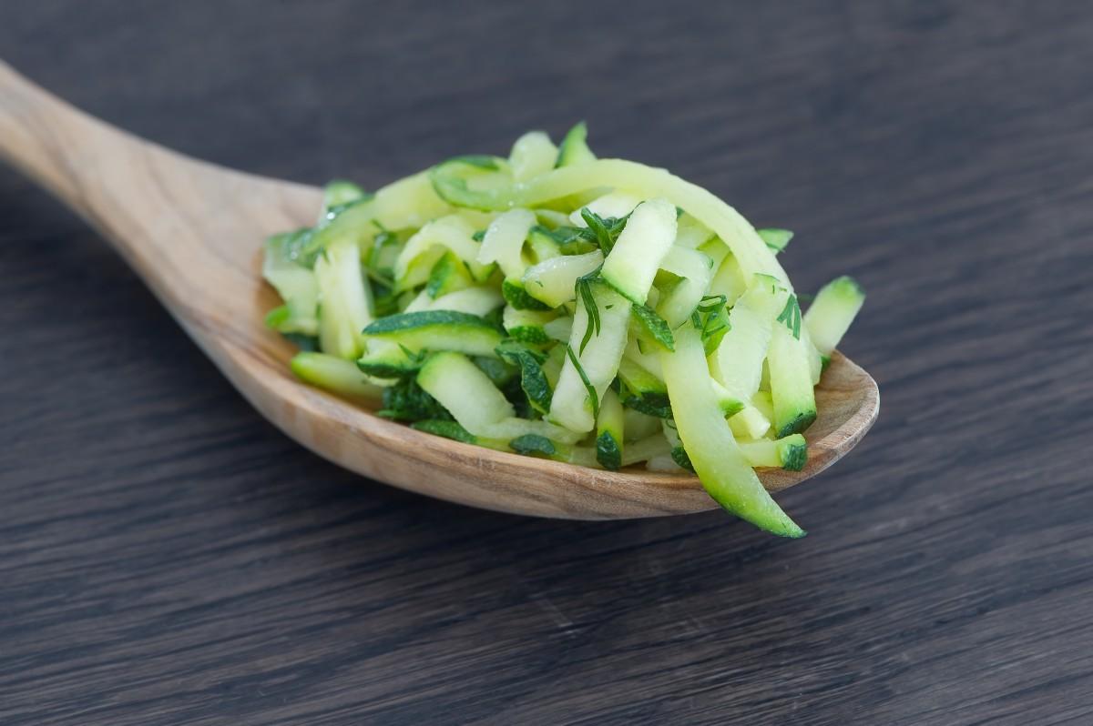 Zucchine lesse: calorie