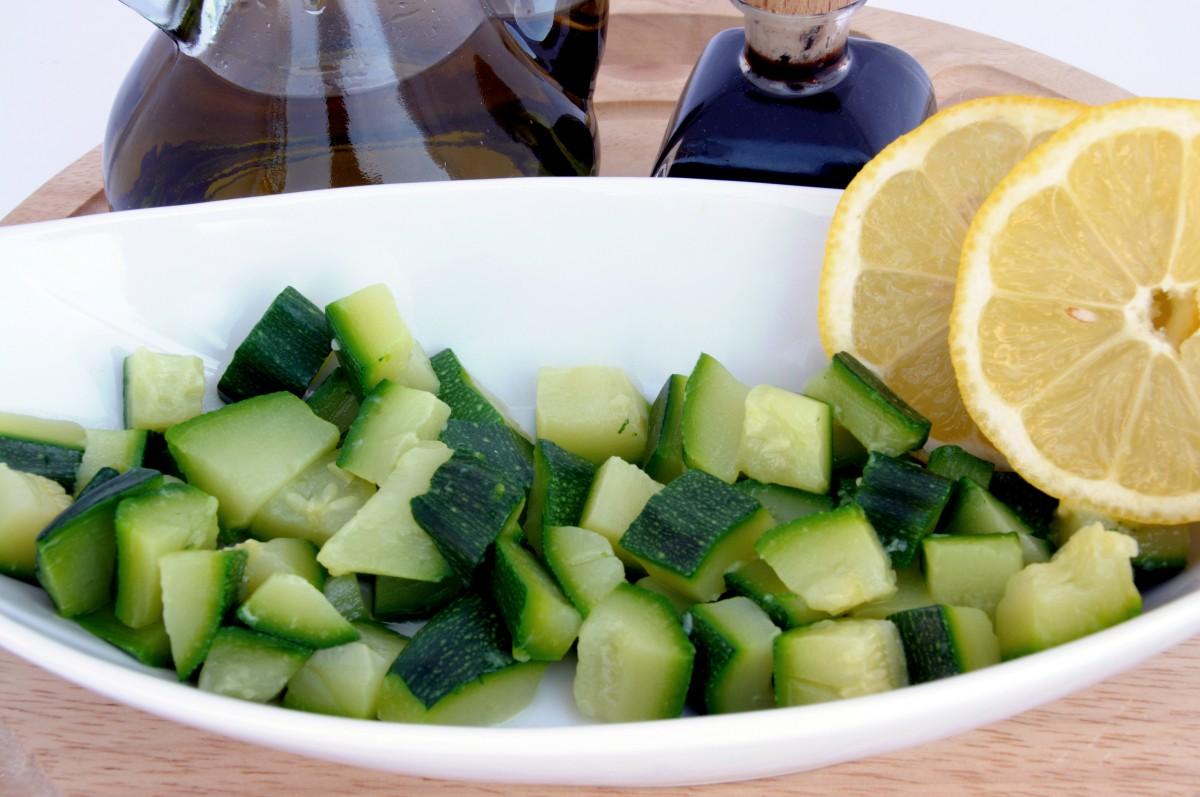 Zucchine lesse: cottura