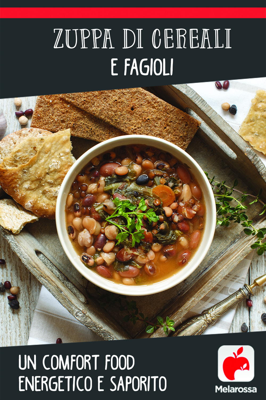 zuppa cereali e fagioli