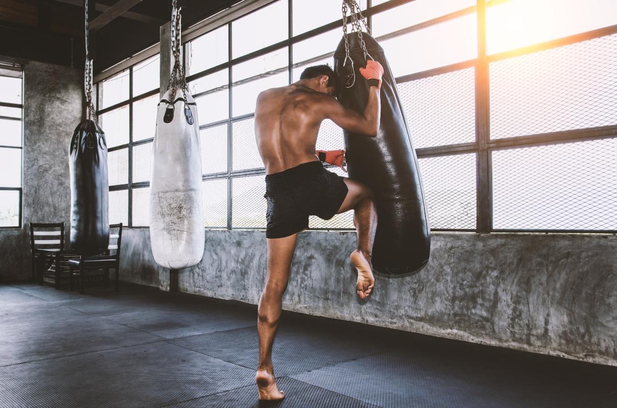 muay thai: sessione di allenamento