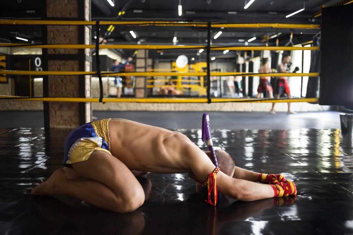 Muay thai: preghiera e combattimento