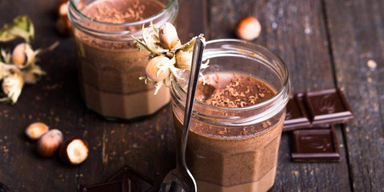 Acquafaba mousse al cioccolato
