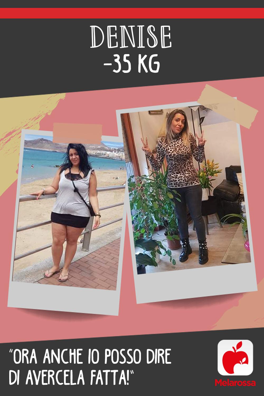 Testimonial melarossa Denise 35 kg
