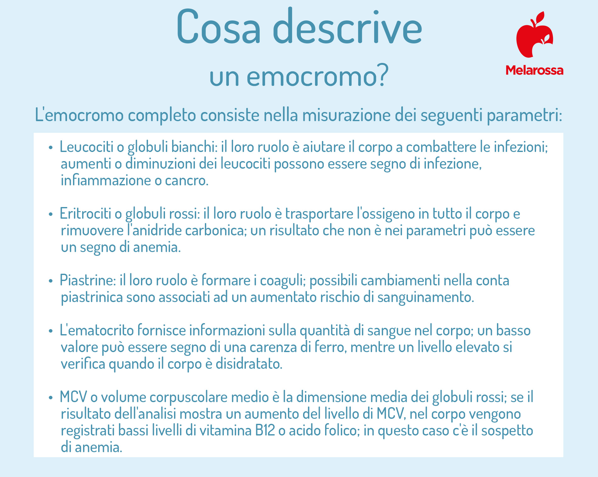 emocromo: cosa descrive
