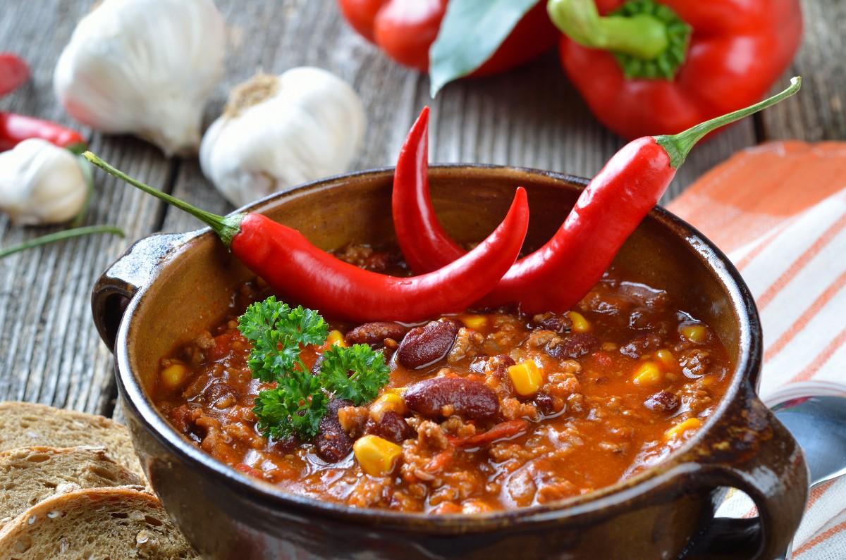 Fagioli alla messicana con peperoncino