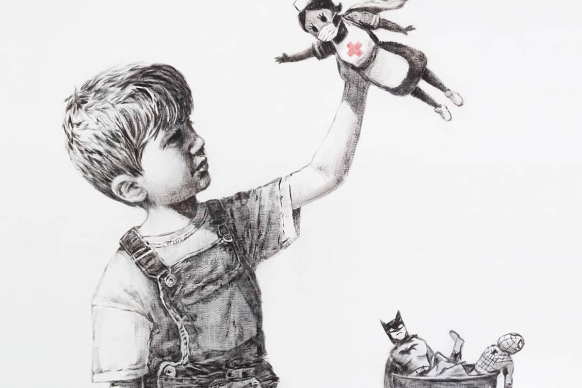 8 marzo festa della donna Banksy