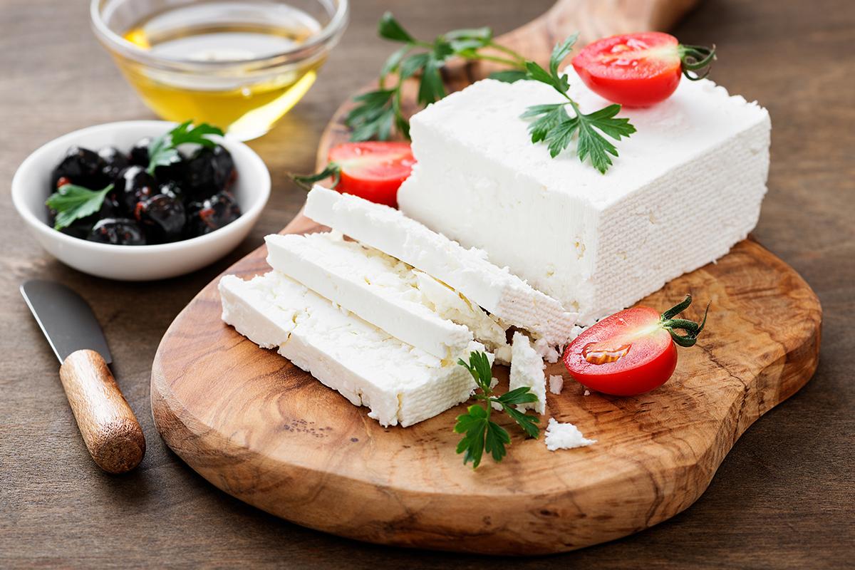 formaggi a dieta: feta come inserirla