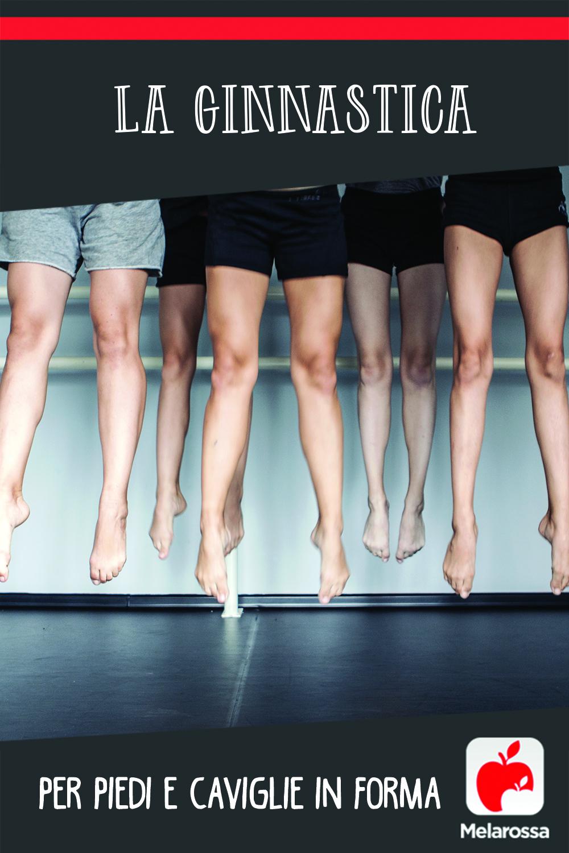 La ginnastica per piedi e caviglie in forma