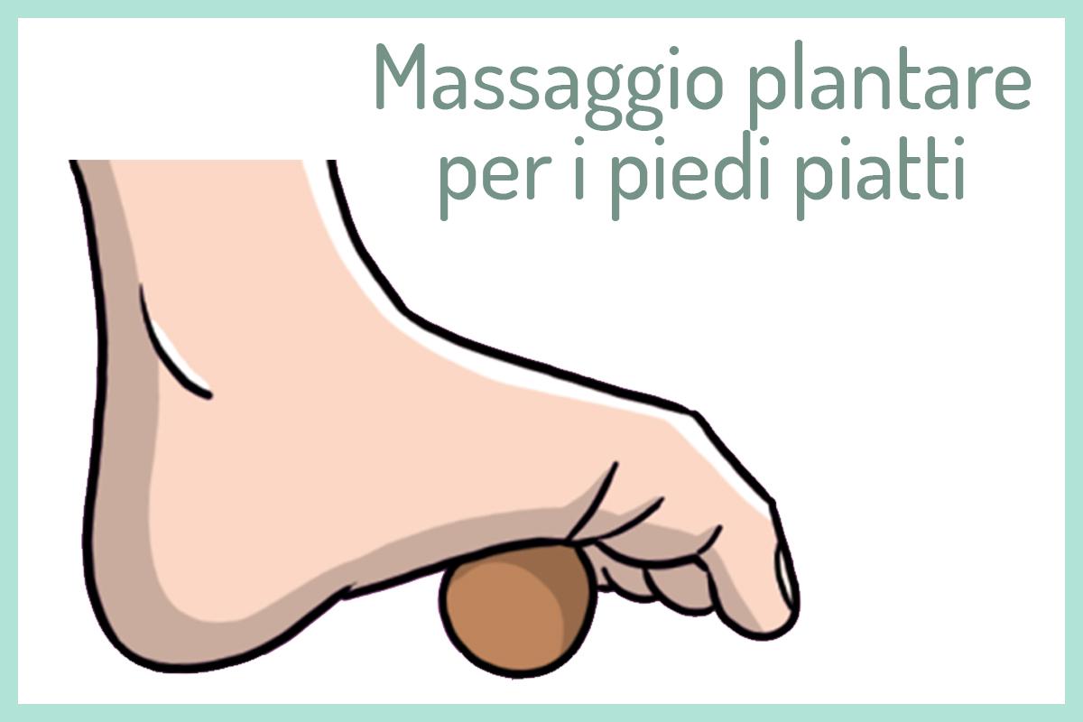 Per i piedi piatti: massaggio plantare