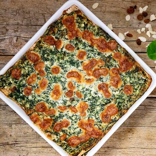 Lasagnetta di pane azzimo: ricetta