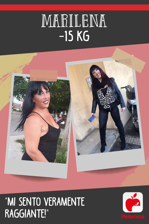 Testimonial Melarossa Marilena 15 kg