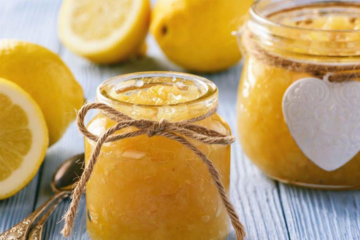 Marmellata fatta in casa: marmellata di limoni di sorrento