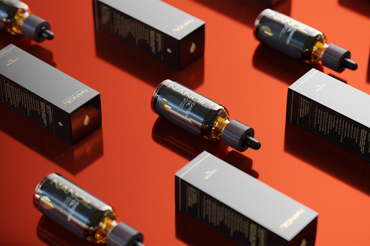 Olio di ricino Nanoil prodotto