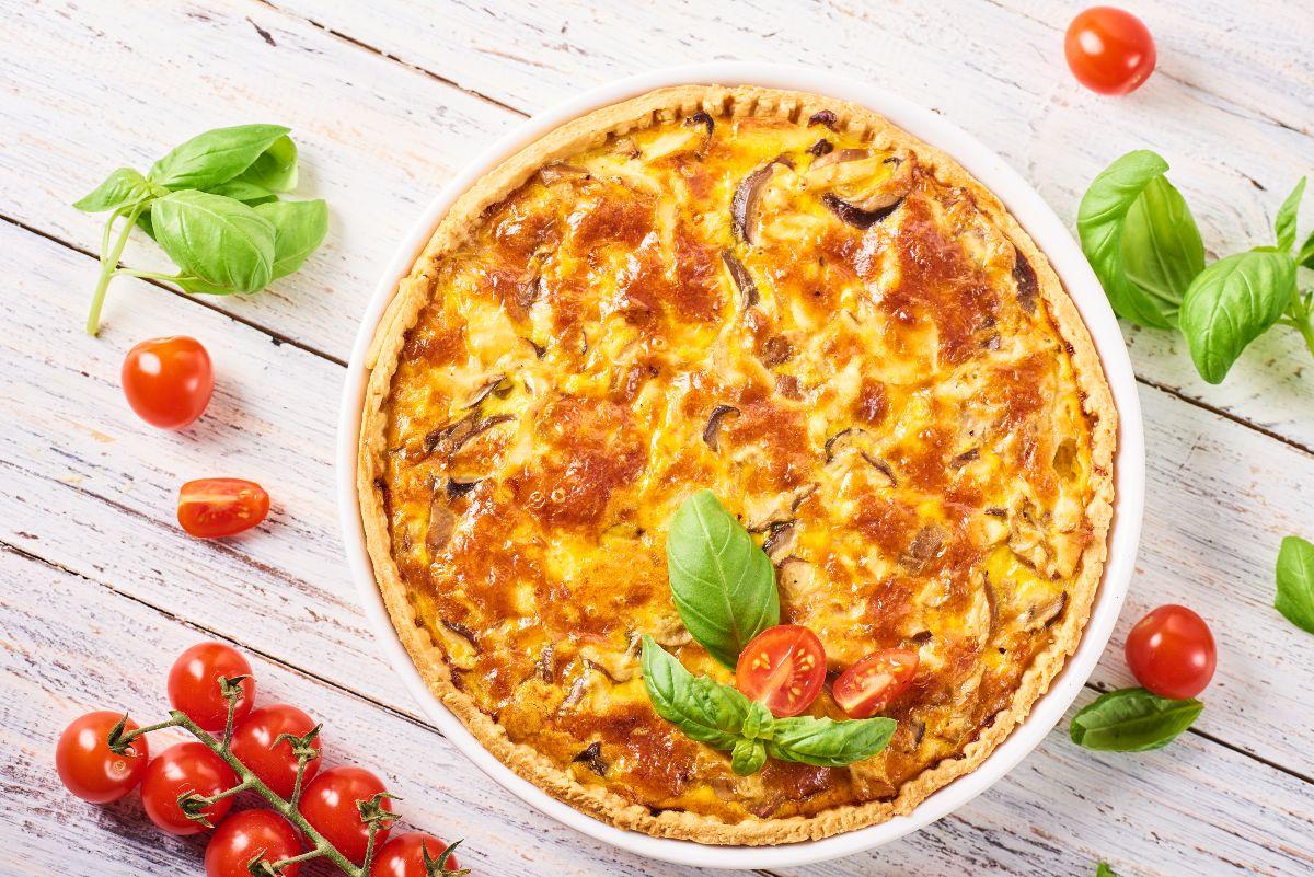 pizza rustica prosciutto