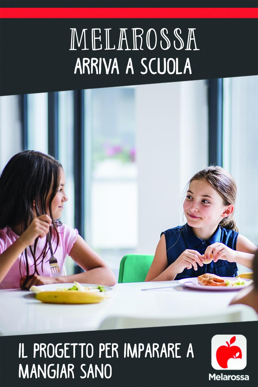 progetto scuola melarossa dieta