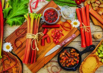 Rabarbaro: cos'è, valori nutrizionali, benefici, ricette e tisane
