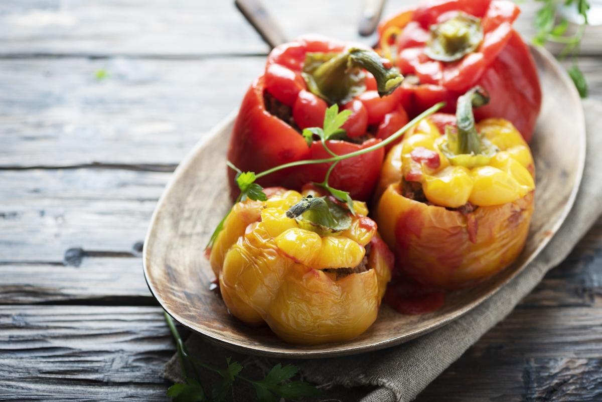 ricette bimby: peperoni ripieni