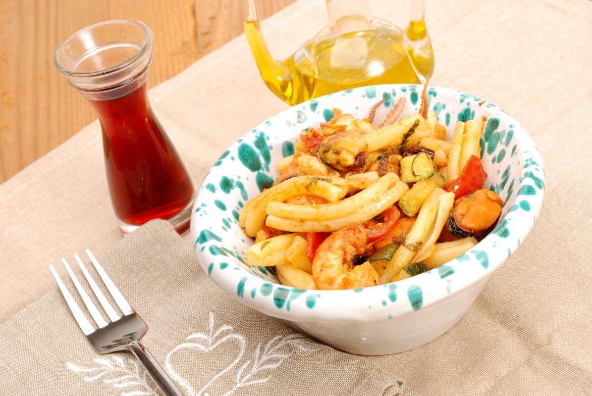 Ricette con gamberi: caserecce
