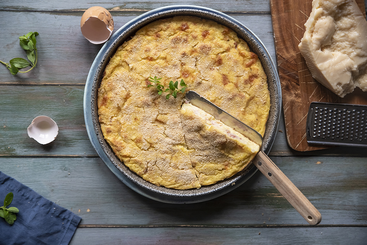 Ricette con la mozzarella: gateau di patate light