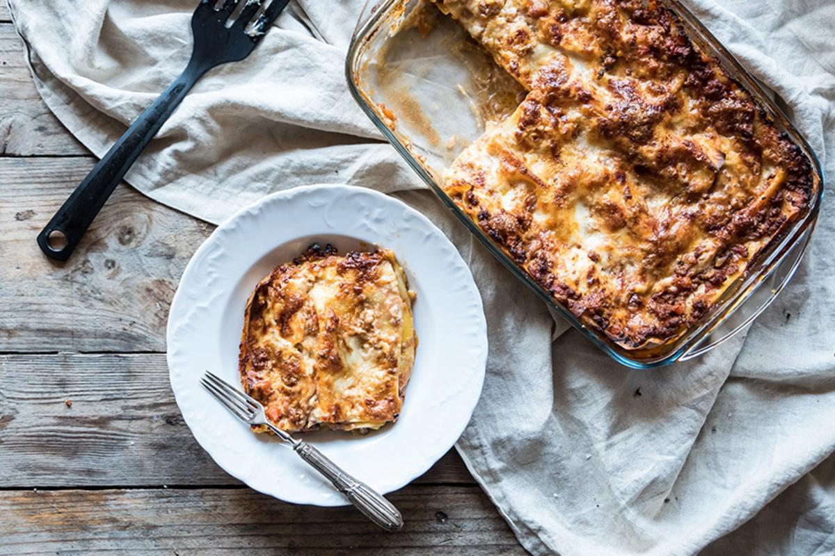 Ricette con la mozzarella: lasagne light