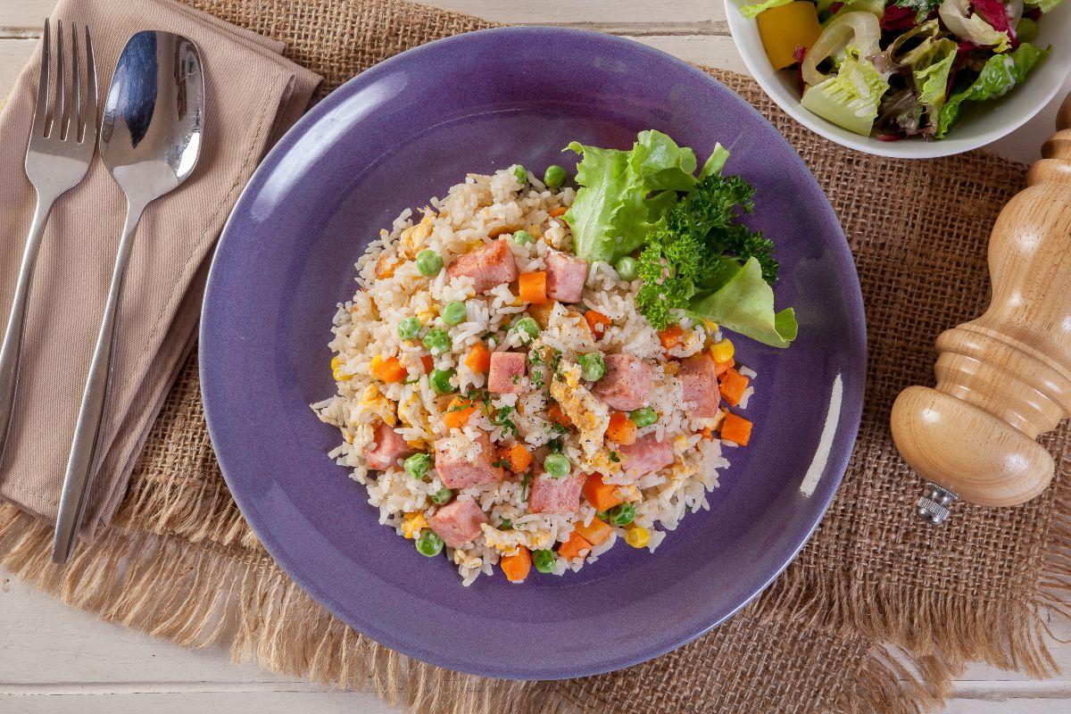 Ricette con riso: riso alla cantonese